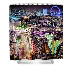 Shower Curtain featuring the photograph Abstract London by Stewart Marsden