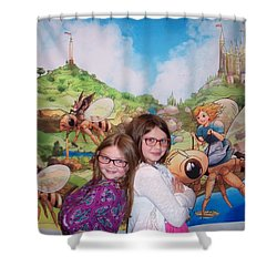 Addy, Rylie, And Tammy Shower Curtain