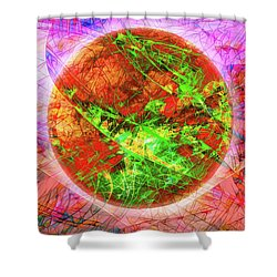 Agony And Ecstasy Shower Curtain
