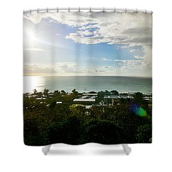 Aguada Sunset Shower Curtain