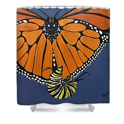 Ah To Fly Shower Curtain