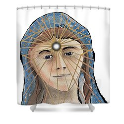 Aingeal Rose Shower Curtain
