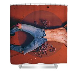 Aitor 2 Shower Curtain