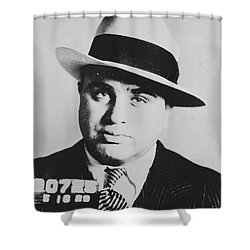 Al Capone Scarface Shower Curtain