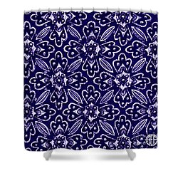 Shower Curtain featuring the painting Alien Bloom 29 by Amy E Fraser