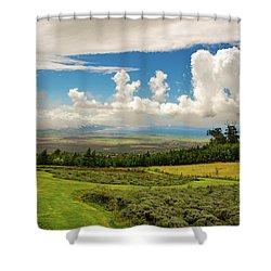 Alii Kula Lavender Farm Shower Curtain