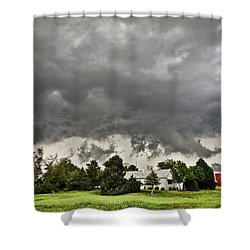 Alive Sky In Wyoming 2 Shower Curtain