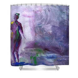 Always Searching Shower Curtain