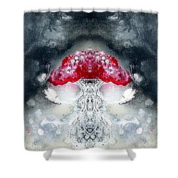 Amanita  Shower Curtain