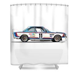 Bmw 3.0 Csl No Background Shower Curtain