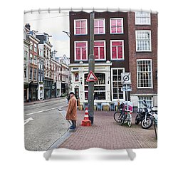 Amsterdam Pride Shower Curtain