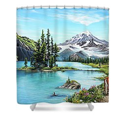 An Afternoon Adventure Shower Curtain