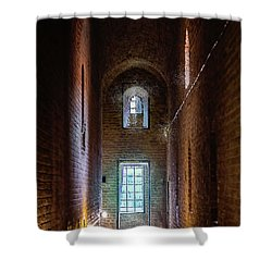 An Entrance To The Casemates Of The Medieval Castle Shower Curtain