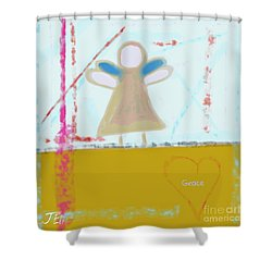 Angel Of Grace Shower Curtain
