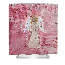 Angel Was Lost But Now Is Found  Shower Curtain
