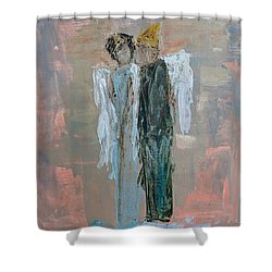 Angels In Love Shower Curtain
