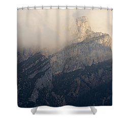Shower Curtain featuring the photograph Anisclo Abstract by Stephen Taylor