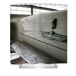 Antique Classic Car Shower Curtain