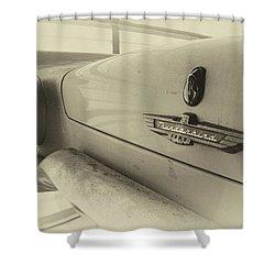Antique Classic Car Vintage Effect Shower Curtain