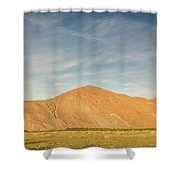 Anza Borrego Sunset Shower Curtain