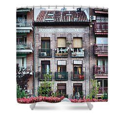 Apartments In Madrid Shower Curtain
