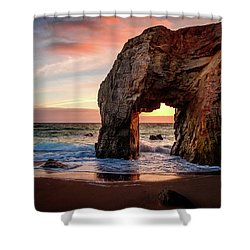 Arche De Port Blanc Shower Curtain