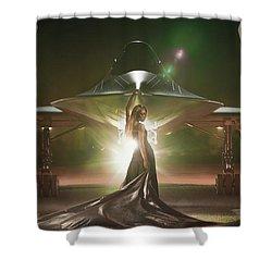 Area 71 Revelation Shower Curtain