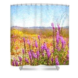 Arizona Lupin Shower Curtain