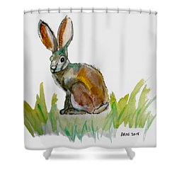 Arogs Rabbit Shower Curtain