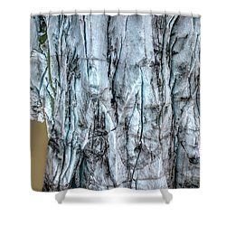 Artic Glacier Shower Curtain