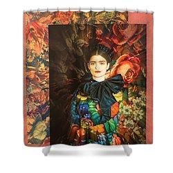 Artistic Frida Kahlo Stream  Shower Curtain