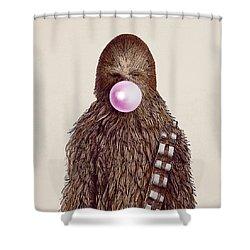 Big Chew Shower Curtain