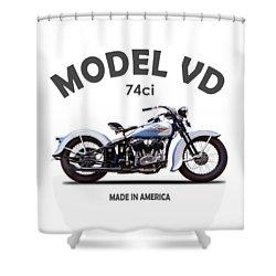 Harley Davidson Shower Curtains Fine Art America