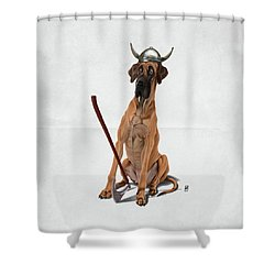 Great Wordless Shower Curtain