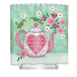 Come Let Us Have Tea Shower Curtain