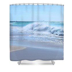 Aruba Sparkle  Shower Curtain