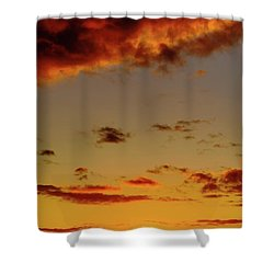As The Sun Touches Shower Curtain