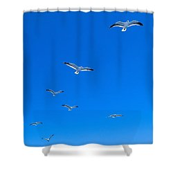 Ascending To Heaven Shower Curtain