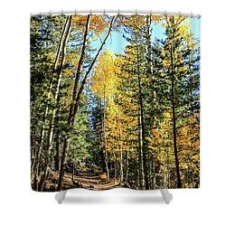 Aspen Trail Shower Curtain