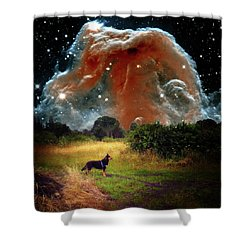 Shower Curtain featuring the photograph Aspiring Lunar Rover Outer Space Image by Bill Swartwout Fine Art Photography