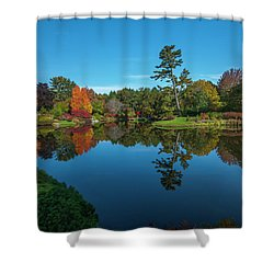 Asticou Reflection Shower Curtain