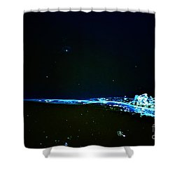 At The Dropoff Point Shower Curtain