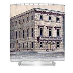 Athenaeum Perspective Shower Curtain