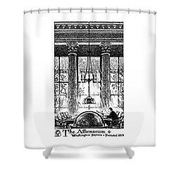 Athenaeum Reading Room Shower Curtain