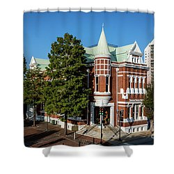 Augusta Cotton Exchange - Augusta Ga Shower Curtain