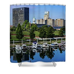 Augusta Ga Savannah River 3 Shower Curtain