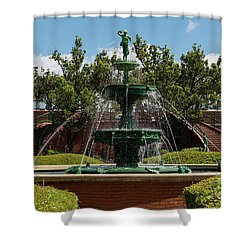 Augusta Riverwalk - Augusta Ga Shower Curtain