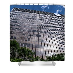 Augusta University Building 1 Shower Curtain