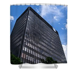 Augusta University Building 2 Shower Curtain