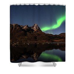 Aurora Reflexions Shower Curtain